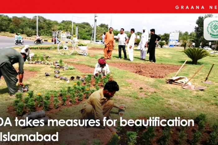 CDA takes measures for beautification of Islamabad