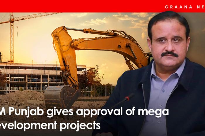CM Punjab gives approval of mega development projects