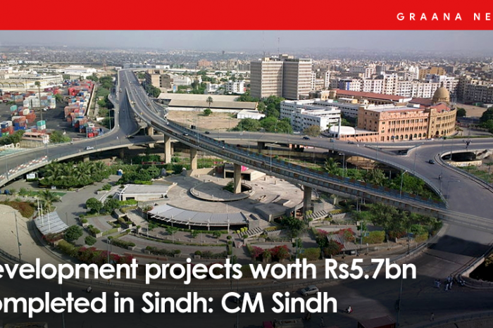 Development projects worth Rs5.7bn completed in Sindh: CM Sindh