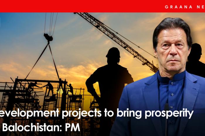 Development projects to bring prosperity in Balochistan: PM