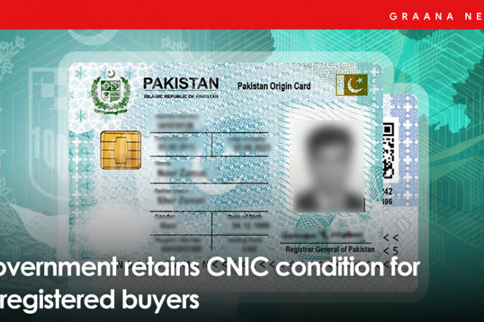Government retains CNIC condition for unregistered buyers