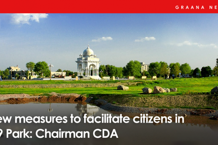 New measures to facilitate citizens in F-9 Park: Chairman CDA
