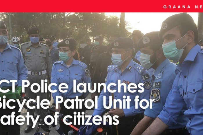 ICT Police launches Bicycle Patrol Unit for safety of citizens