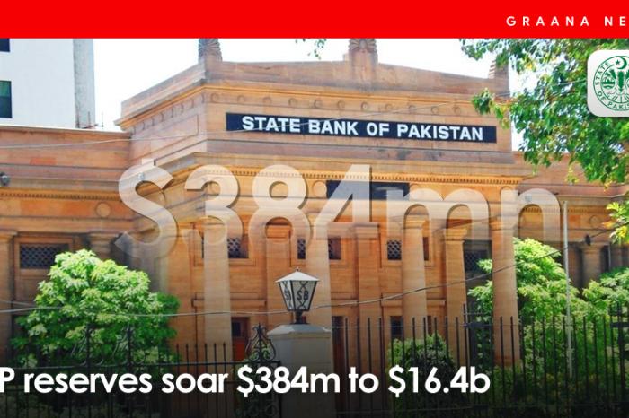 SBP reserves soar $384m to $16.4b