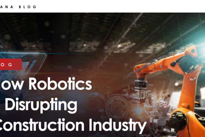 How Robotics is Disrupting Construction Industry?