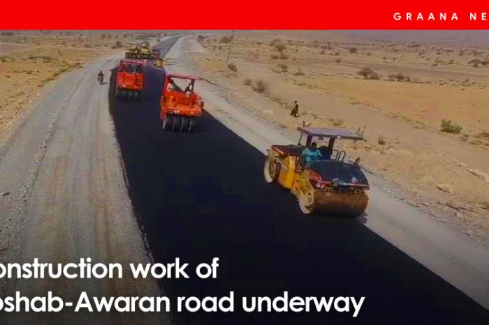 Construction work of Hoshab-Awaran road underway