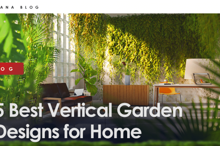 5 Best Vertical Garden Designs for Home