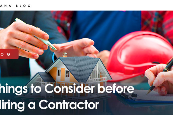 Things to Consider before Hiring a Contractor