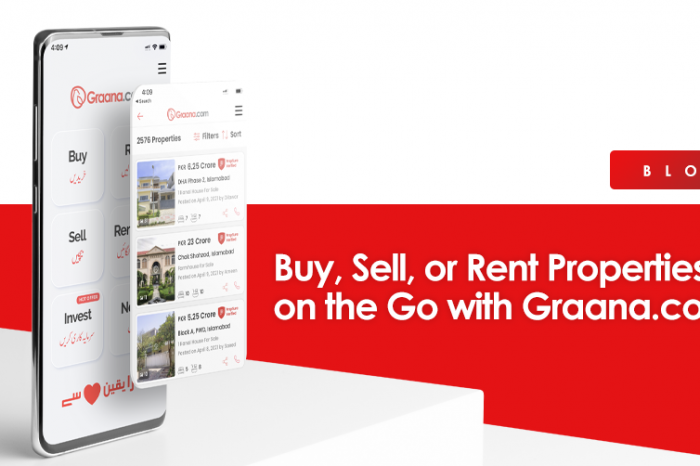 Buy, Sell, or Rent Properties on the Go with Graana.com