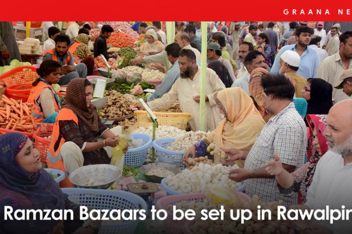 16 Ramzan Bazaars to be set up in Rawalpindi