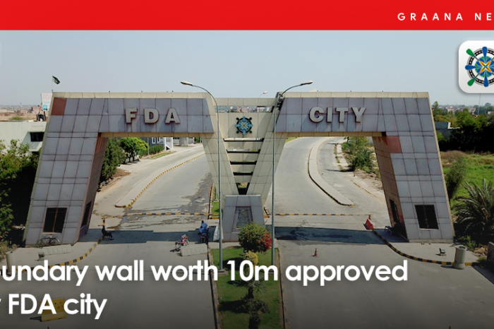 Boundary wall worth 10m approved for FDA City