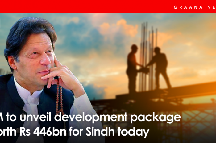 PM to unveil development package worth Rs 446bn for Sindh today