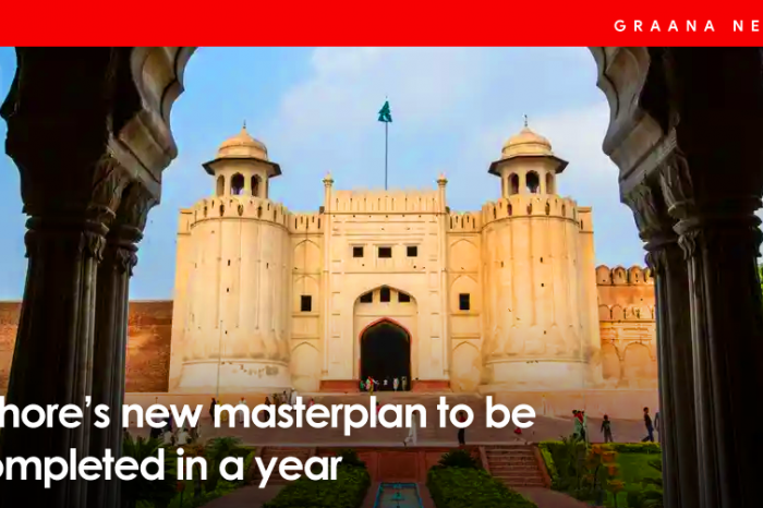 Lahore's new masterplan to be completed in a year