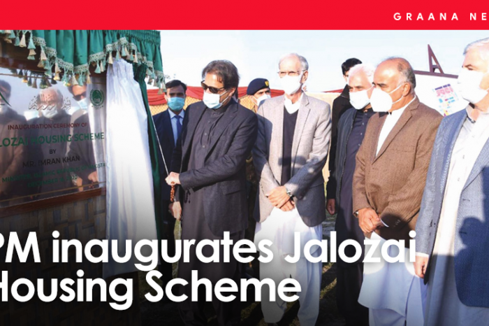 PM inaugurates Jalozai Housing Scheme