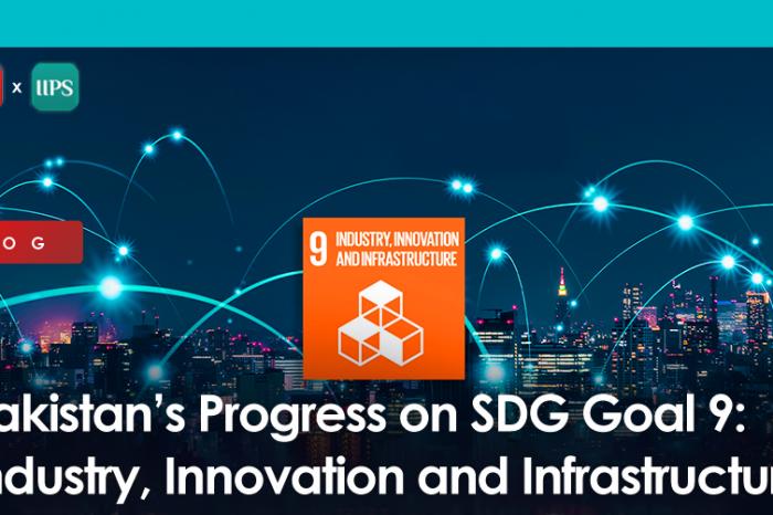 Pakistan's Progress on SDG Goal 9: Industry, Innovation and Infrastructure