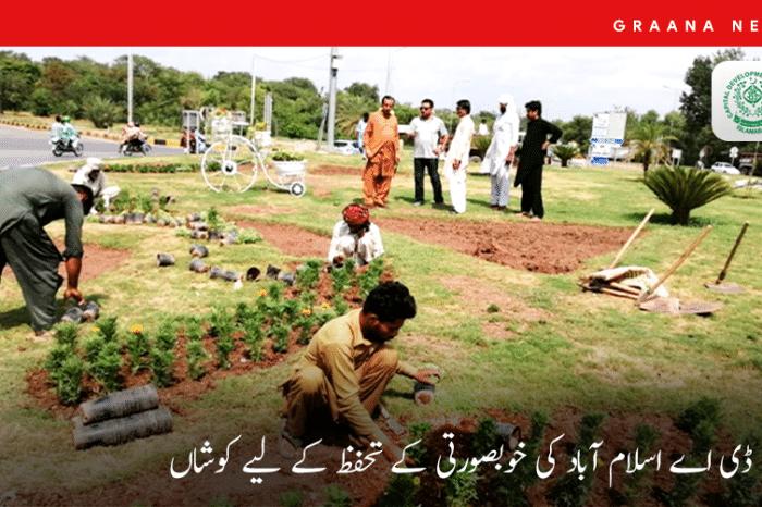 سی ڈی اے اسلام آباد کی خوبصورتی کے تحفظ کے لیے کوشاں