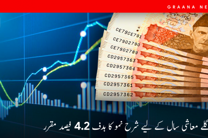 حکومت نے اگلے معاشی سال کے لیے شرح نمو کا ہدف 4.2 فیصد مقرر کرلیا