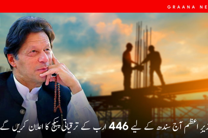 وزیرِ اعظم آج سندھ کے لیے 446 ارب کے ترقیاتی پیکج کا اعلان کریں گے