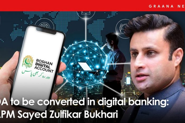 RDA to be converted in digital banking: SAPM Sayed Zulfikar Bukhari