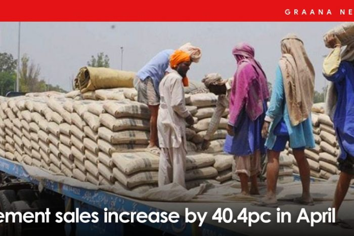 Cement sales increase by 40.4pc in April