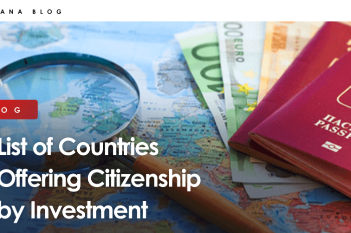 List of Countries Offering Citizenship by Investment
