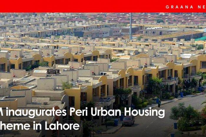 PM inaugurates Peri Urban Housing Scheme in Lahore