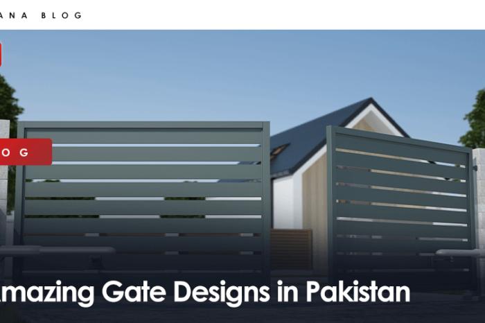 Amazing Gate Designs in Pakistan