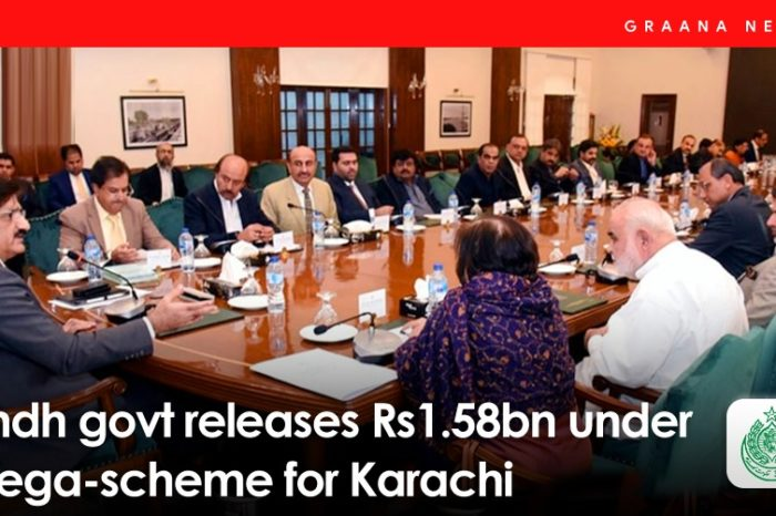 Sindh govt releases Rs1.58bn under mega-scheme for Karachi