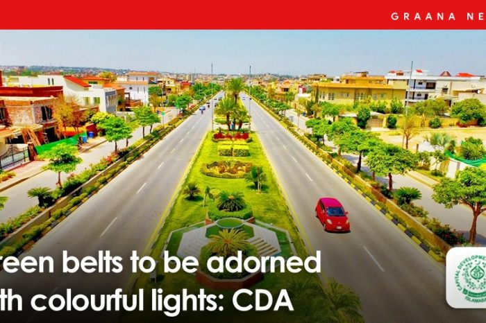 Green belts to be adorned with colourful lights: CDA
