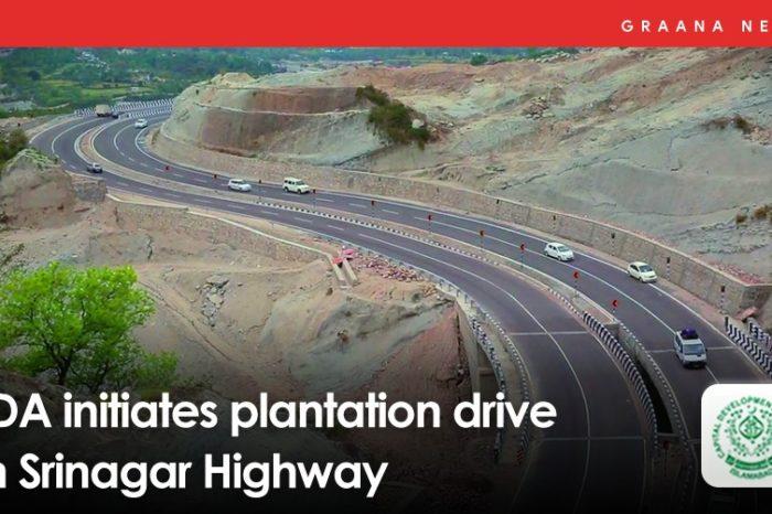 CDA initiates plantation drive on Srinagar Highway