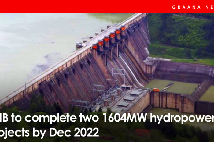 PPIB to complete two 1604MW hydropower projects by Dec 2022