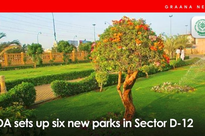CDA completes development of six new parks in Sector D-12
