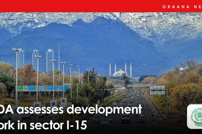 CDA assesses development work in Sector I-15