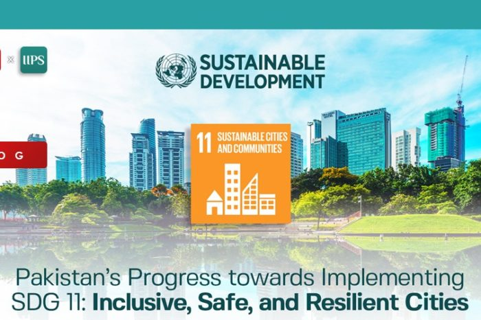 Pakistan's Progress towards Implementing SDG 11 Inclusive, Safe and Resilient Cities