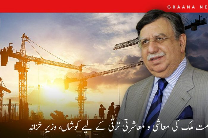 حکومت مُلک کی معاشی و معاشرتی ترقی کے لیے کوشاں، وزیرِ خزانہ