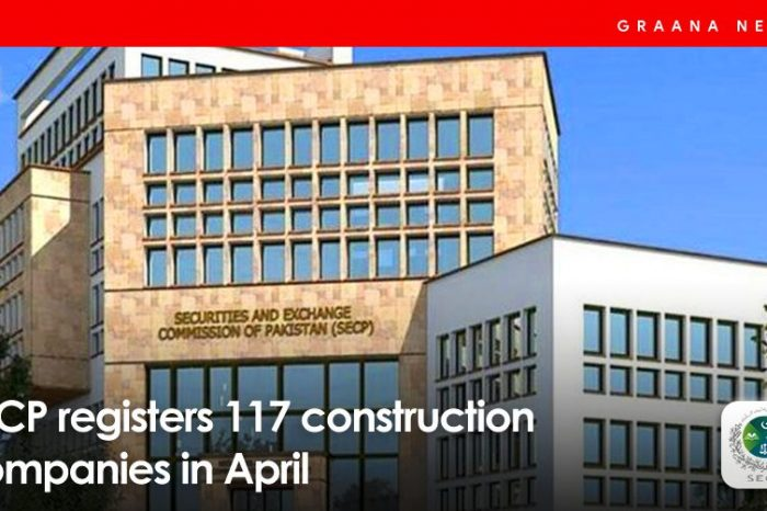 SECP registers 117 construction companies in April
