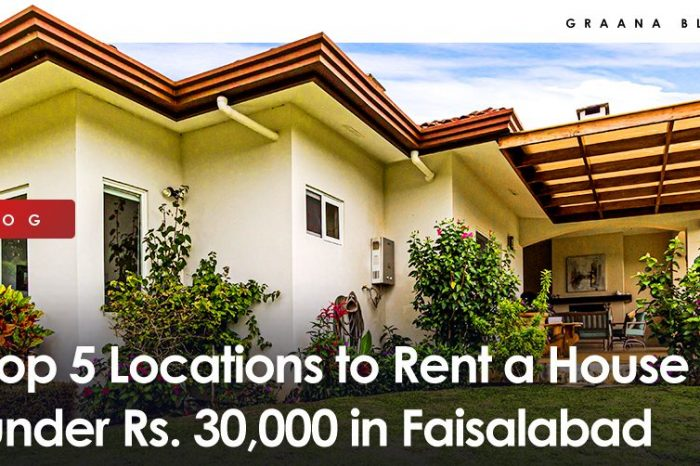 Top 5 Locations to Rent a House Under 30,000 in Faisalabad