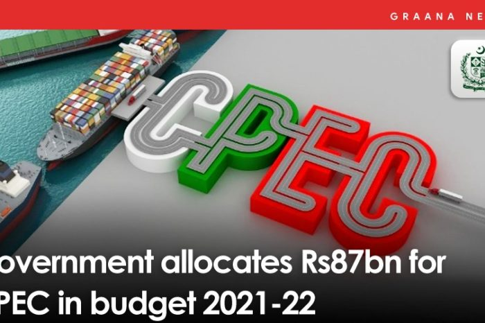Government allocates Rs87bn for CPEC in budget 2021-22