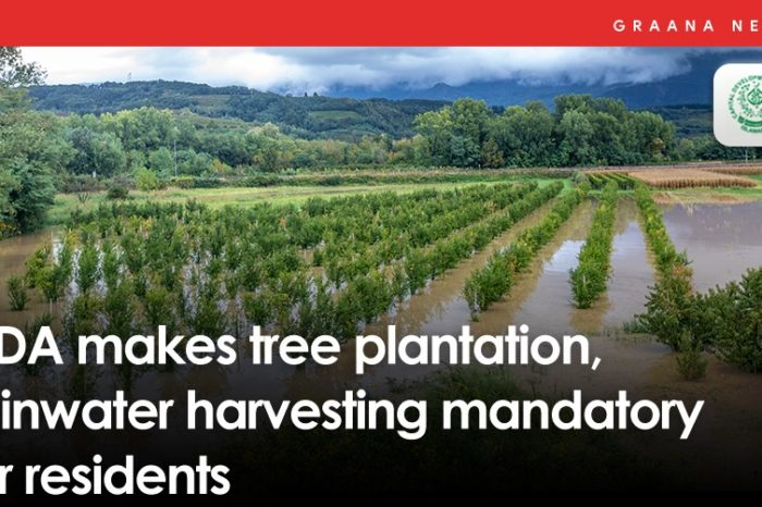 CDA makes tree plantation, rainwater harvesting mandatory for residents