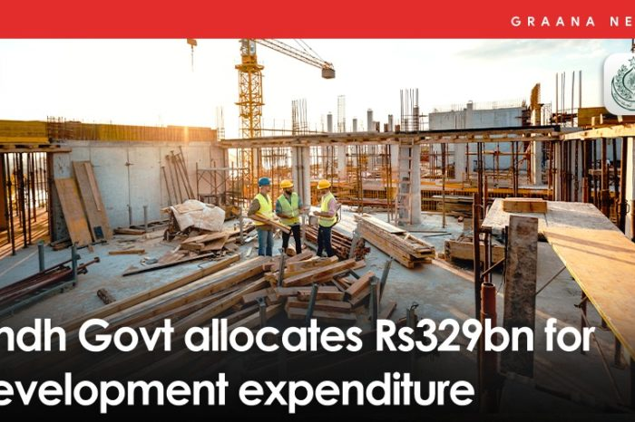 Sindh Govt allocates Rs329bn for development expenditure