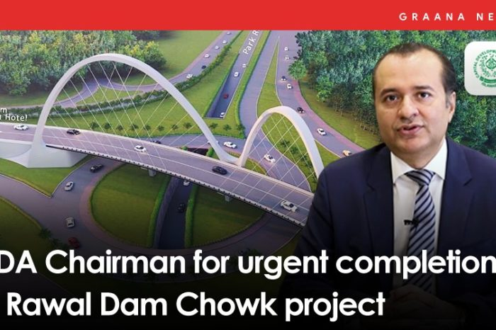 CDA Chairman for urgent completion of Rawal Dam Chowk project