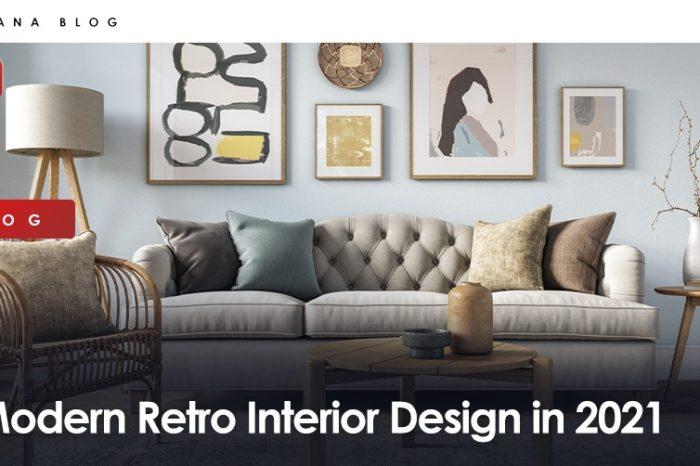 Modern Retro Interior Design in 2021