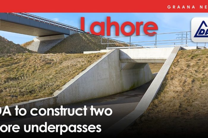 LDA to construct two more underpasses