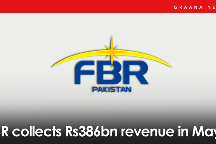 FBR collects Rs386bn revenue in May