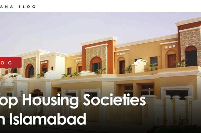 Top Housing Societies In Islamabad