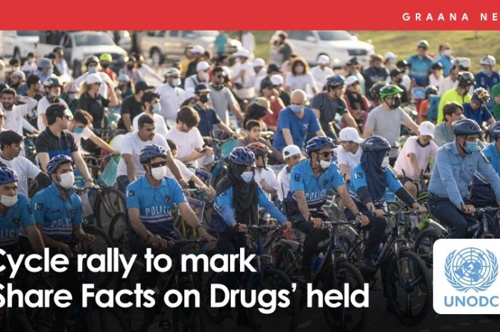 Cycle rally to mark 'Share Facts on Drugs' held