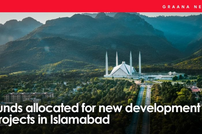 Funds allocated for new development projects in Islamabad