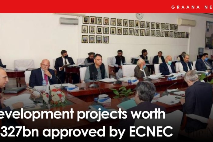Development projects worth Rs327bn approved by ECNEC