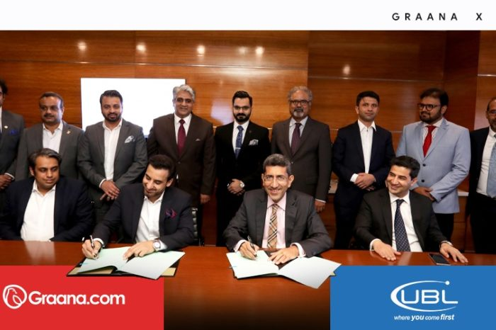 Graana.com and UBL sign MoU to promote home financing facility on easy terms