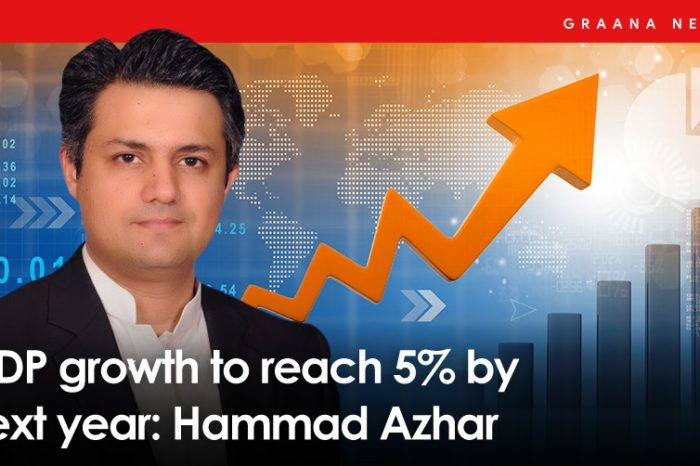 GDP growth to reach 5% by next year: Hammad Azhar